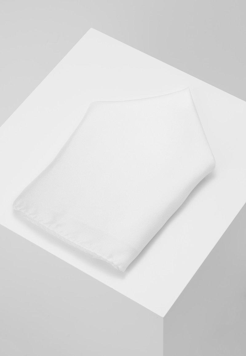 HUGO - POCKETSQUARE - Poszetka - open white