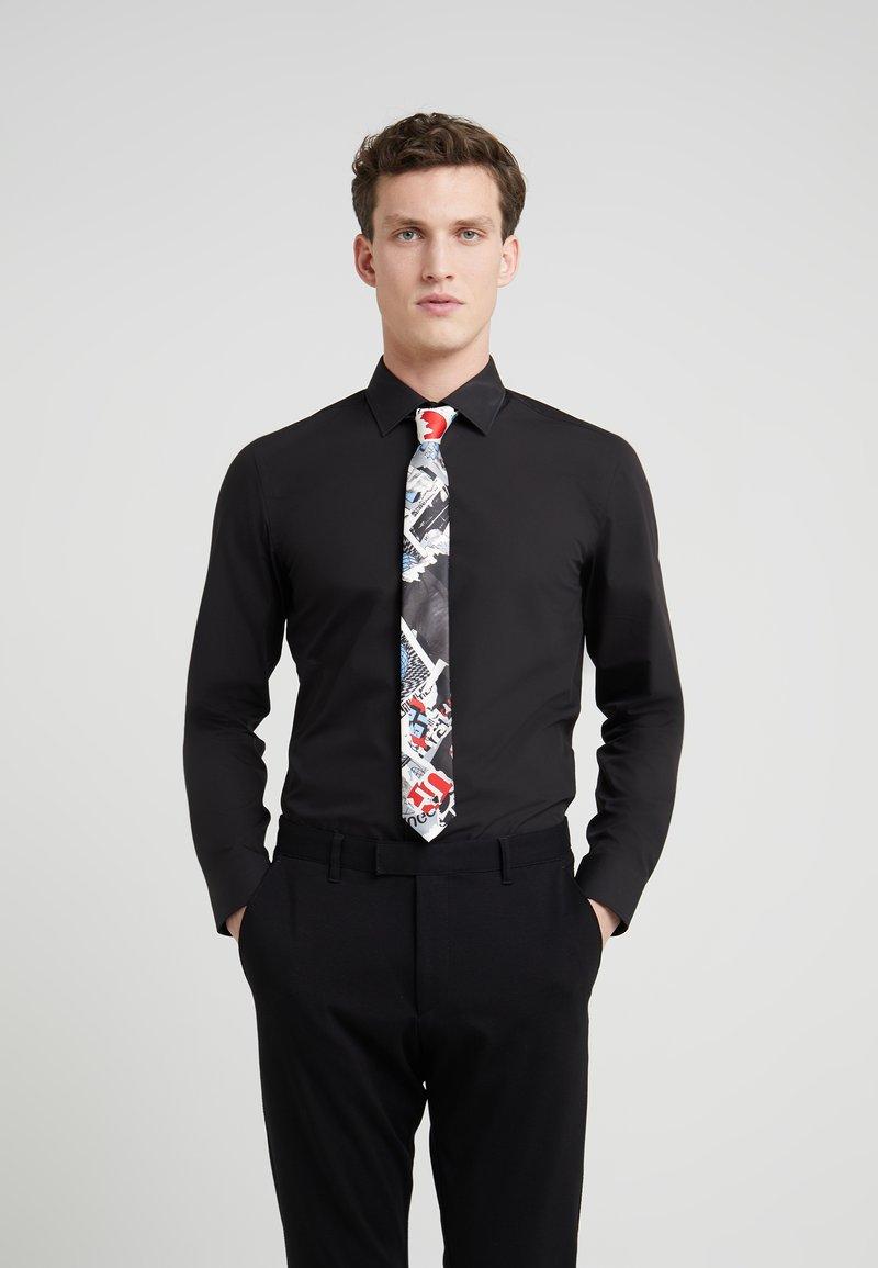 HUGO - TIE - Krawatte - open pink