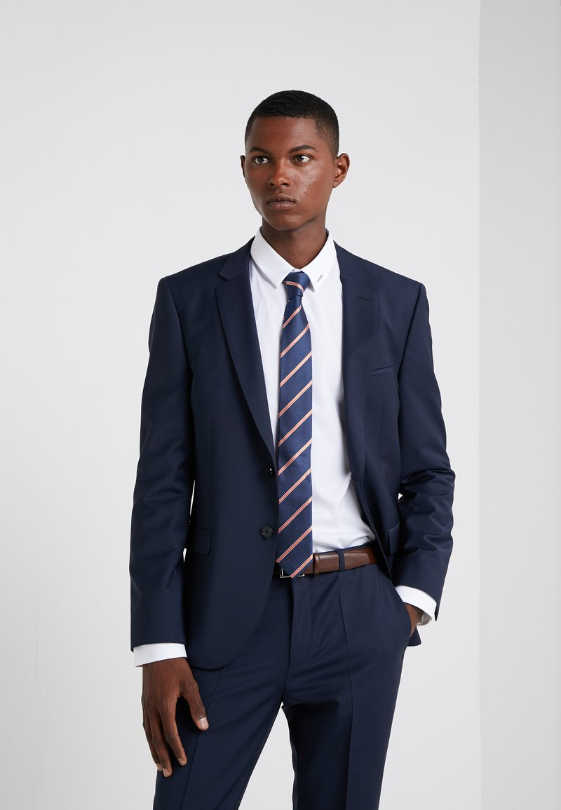 HUGO - TIE - Slips - dark blue