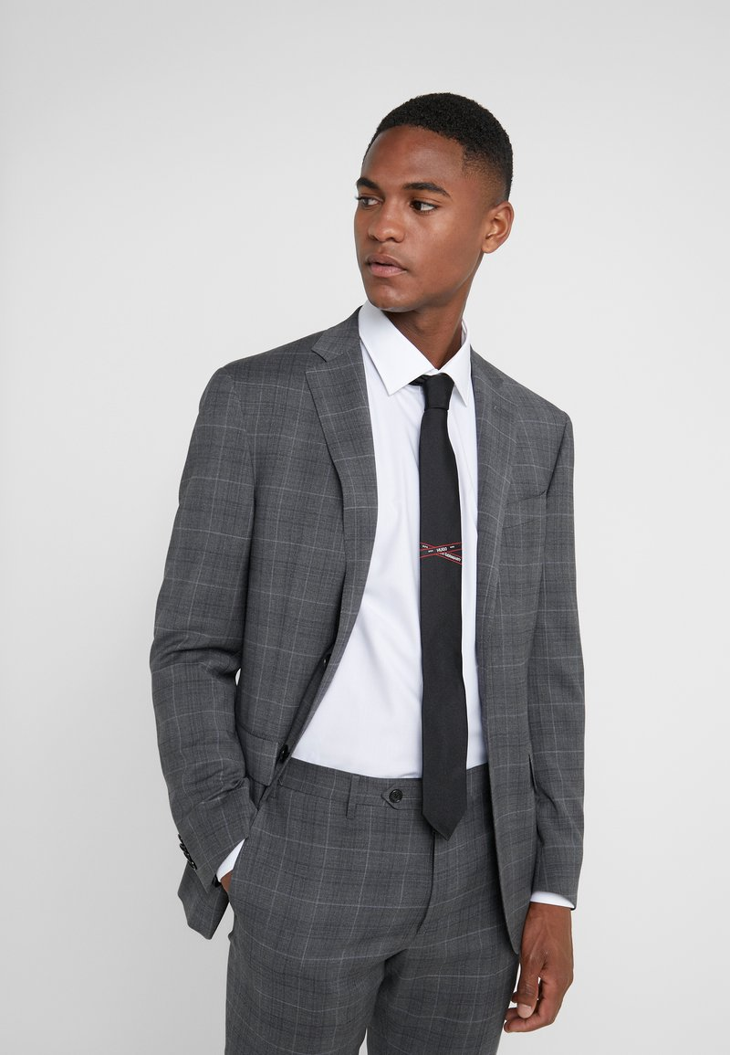HUGO - Krawatte - black
