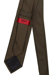HUGO - Corbata - dark green - 3