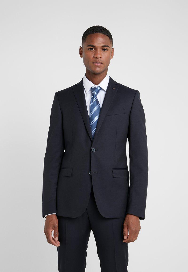 HUGO - TIE - Krawat - medium blue