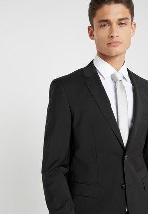 TIE - Krawatte - silver