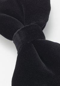 HUGO - BOW TIE BIG VELVET - Pajarita - black - 5