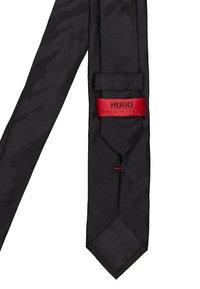 HUGO - TIE - Cravatta - black - 3