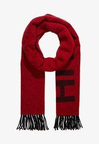 HUGO - Skjerf - red/black logo - 2