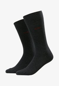 HUGO - 2 PACK - Calcetines - charcoal - 1