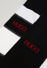 HUGO - STRIPE 2 PACK - Sokker - black - 1