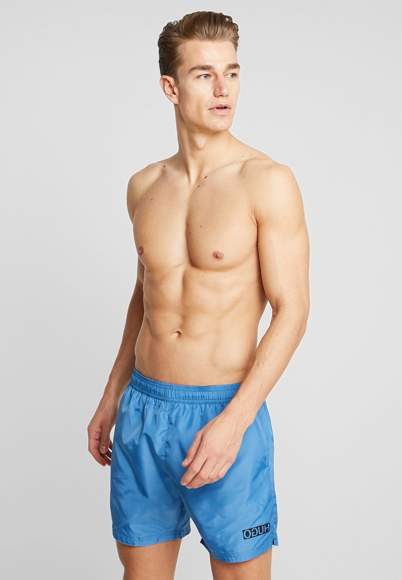 HUGO - KUBA - Swimming shorts - light blue