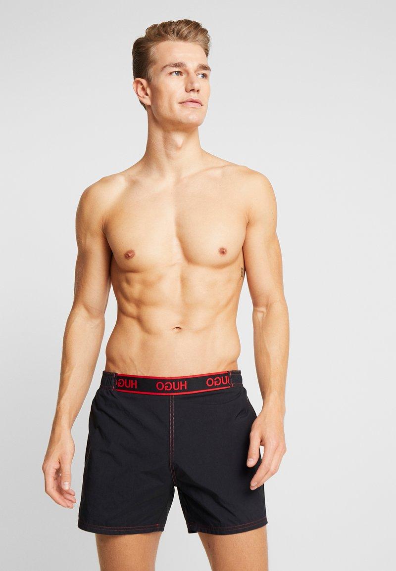 HUGO - ABACO - Swimming shorts - black