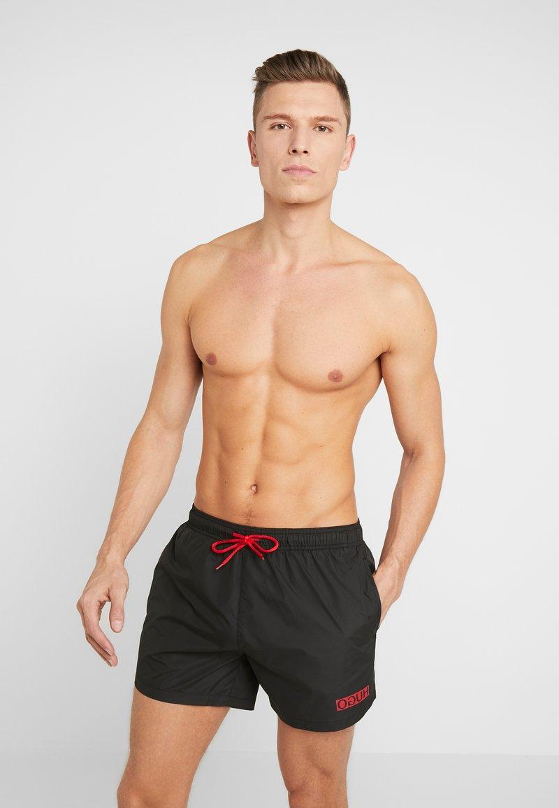 HUGO - HAITI - Zwemshorts - black