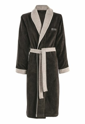 BADEMANTEL - Dressing gown - onyx