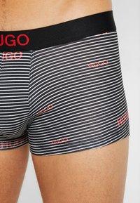 HUGO - TRUNK BROTHER 2 PACK - Panties - black - 4