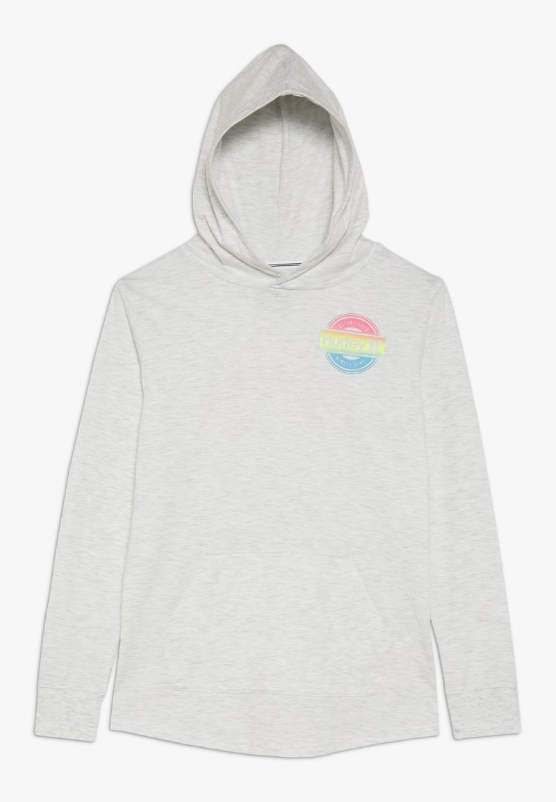 Hurley - HOOD PLAY PULLOVER - Hoodie - birch heather