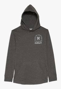 Hurley - HOOD PLAY PULLOVER - Hoodie - charcoal heather - 0