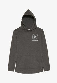 Hurley - HOOD PLAY PULLOVER - Hoodie - charcoal heather - 2