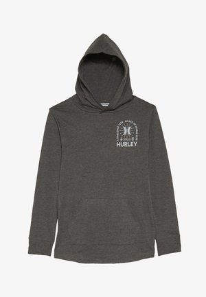 HOOD PLAY PULLOVER - Hoodie - charcoal heather