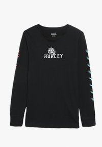 Hurley - STAMPED - Longsleeve - black - 0