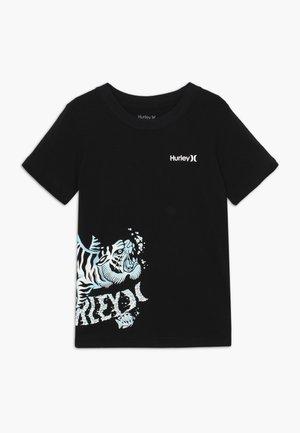 TIGER SPLASH TEE - T-shirt print - black