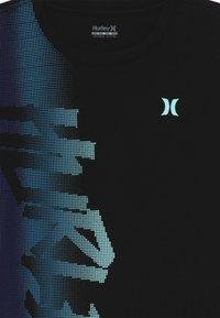 Hurley - BITMAP - T-shirt print - black - 3