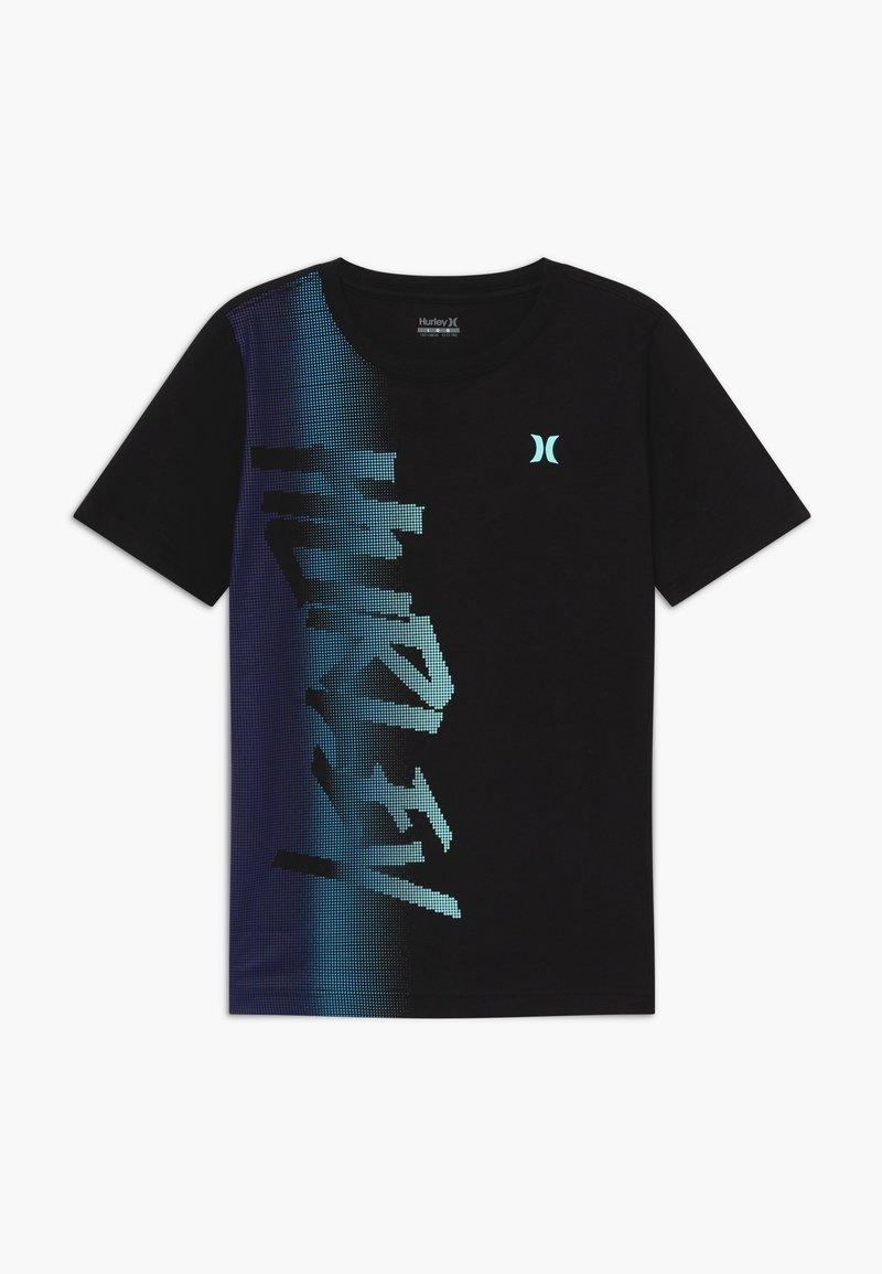 Hurley - BITMAP - T-shirt print - black