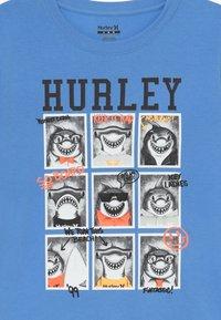 Hurley - CLASS  - T-shirt print - light blue - 3