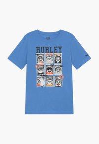 Hurley - CLASS  - T-shirt print - light blue - 0