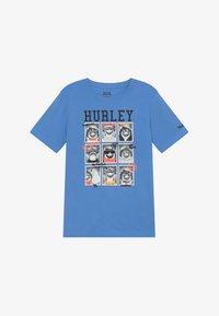 Hurley - CLASS  - T-shirt print - light blue - 2