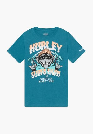 MONKEY BIZ - T-shirt print - tropical teal heather