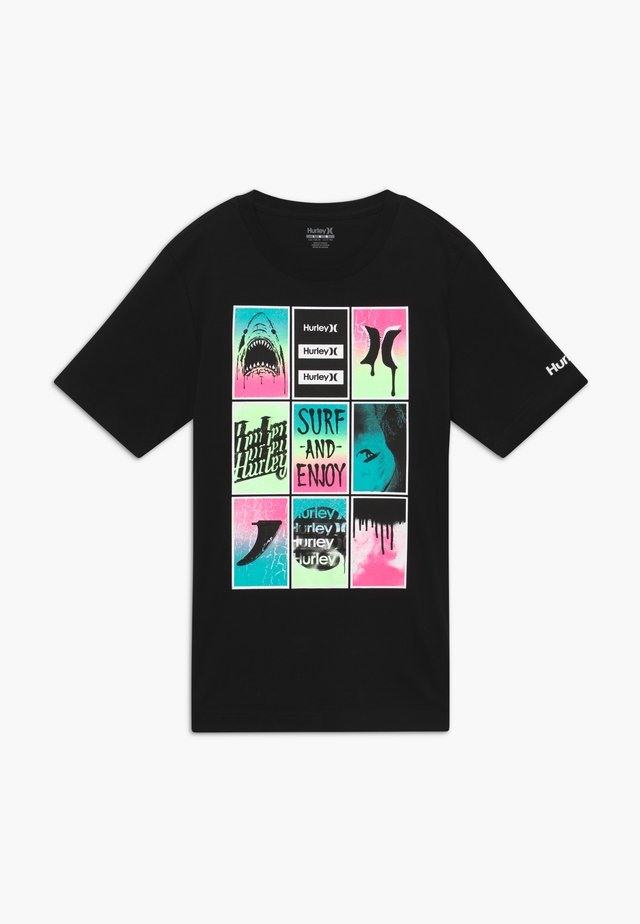 POSTER TEE - T-shirt z nadrukiem - black
