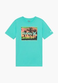 Hurley - OPEN MIND  - T-shirt print - tropical twist - 0