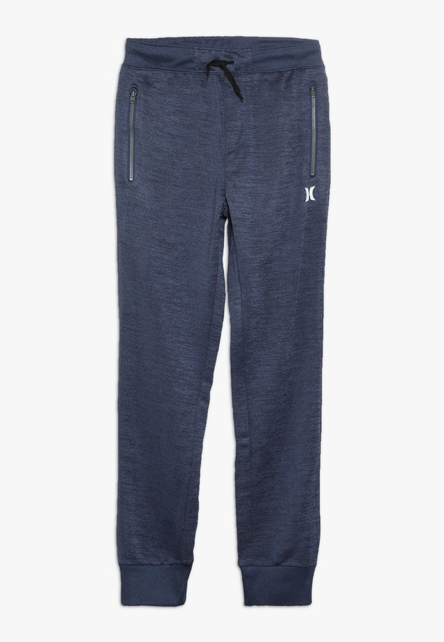 DRIFIT SOLAR - Tracksuit bottoms - blackened blue heather