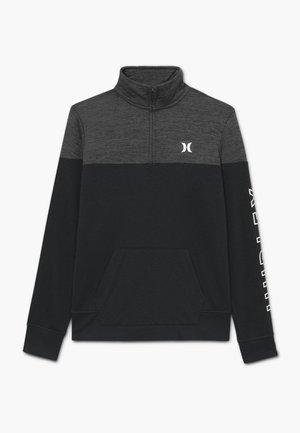 SOLAR 1/2 ZIP - Sweatshirt - black heather