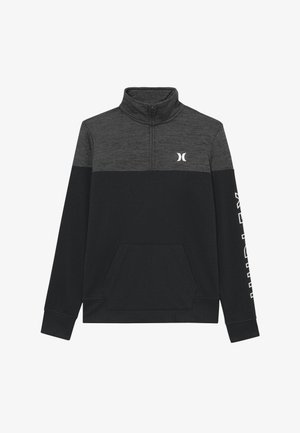 SOLAR 1/2 ZIP - Sweater - black heather