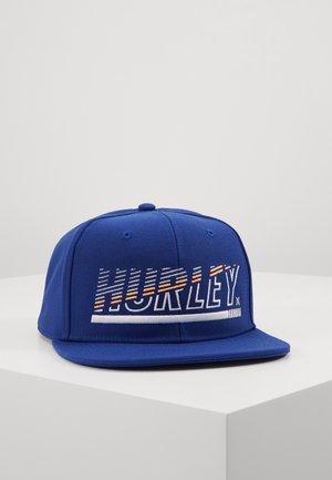 CHOPPED CAP - Czapka z daszkiem - deep royal blue
