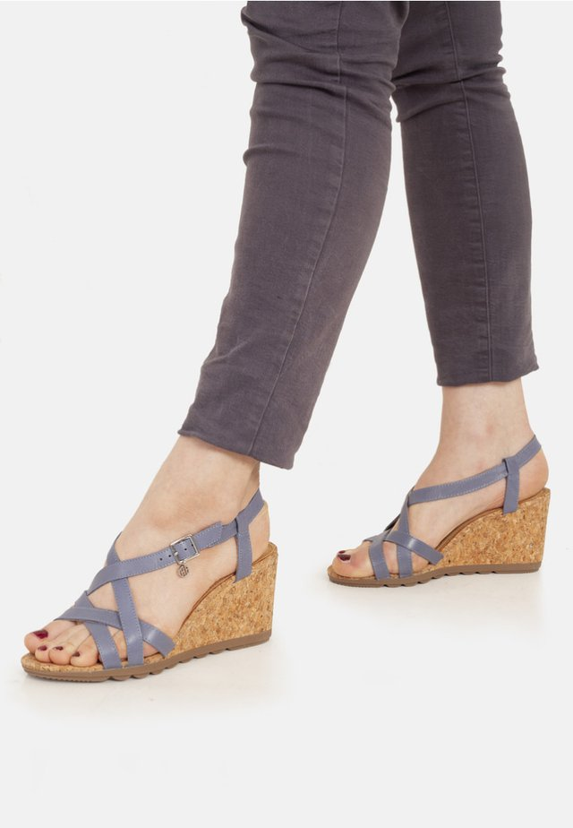 Wedges - blue