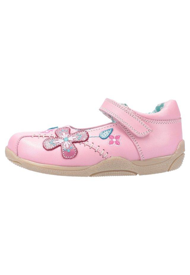 MIT KLETTVERSCH - Ballerina's met enkelbandjes - pink