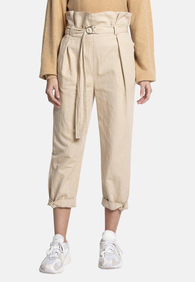 JACEY - Trousers - beige