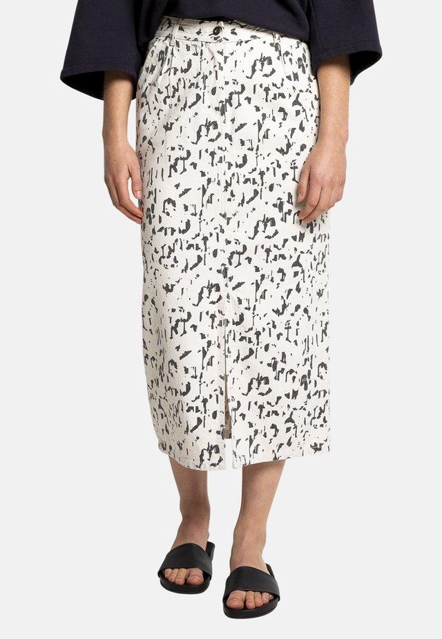 AMI PRI - Denim skirt - off-white
