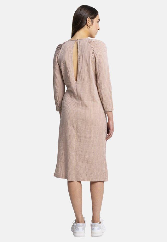 MACEY - Day dress - brown
