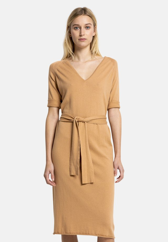 EZRI - Jumper dress - brown