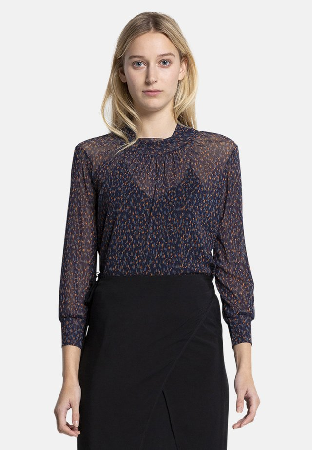 FLORA - Blouse - dark blue