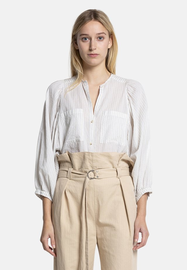 NOUD STR - Blouse - white