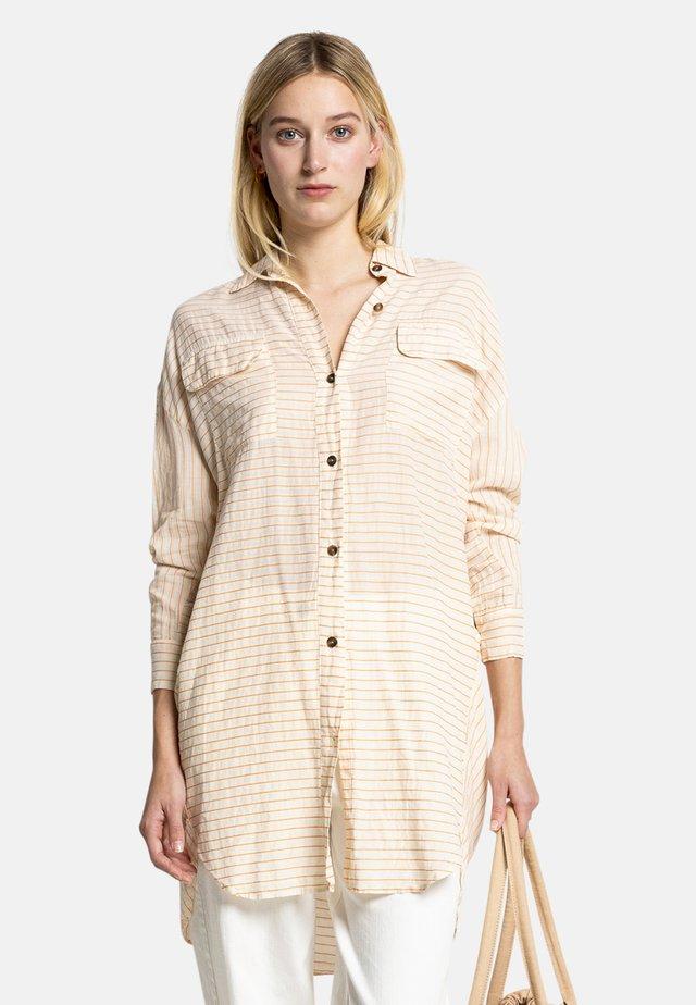 MARY - Shirt dress - white