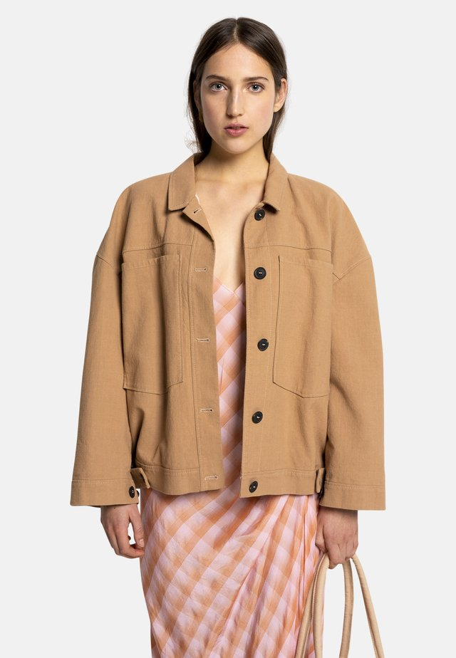 FAJA - Summer jacket - beige