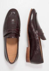 Hudson London - CALIBRO - Elegantní nazouvací boty - brown - 1