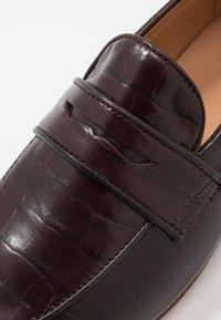 Hudson London - CALIBRO - Elegantní nazouvací boty - brown - 5
