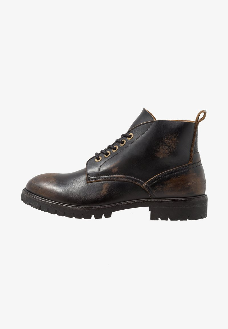 Hudson London - SUMMIT - Lace-up ankle boots - black