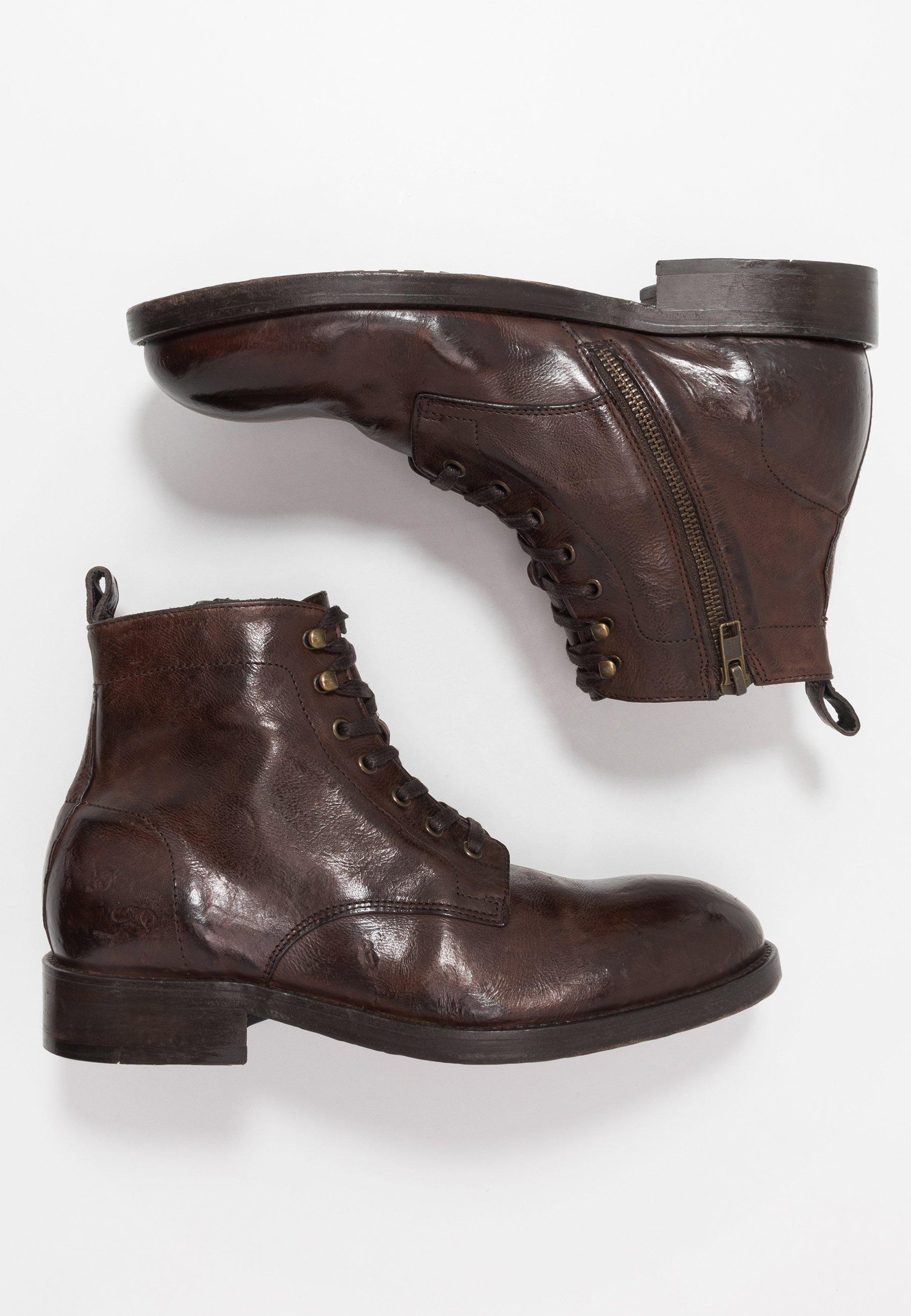 Hudson London Bottines à lacets - brown washed