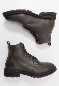 Hudson London - ABLE - Šněrovací kotníkové boty - grey - 1